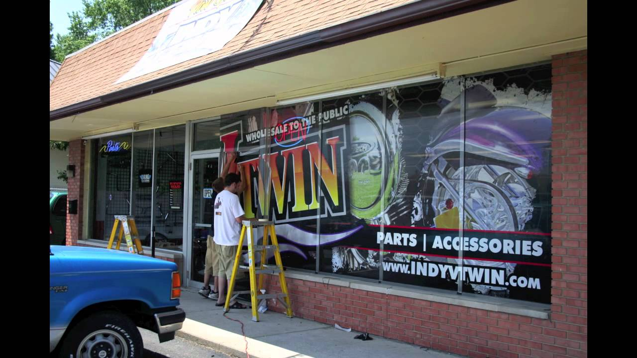 Hygh Octane Graphics Installing Window Graphics On