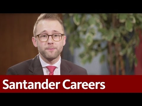 Santander Careers | Working at Santander | Thomas, supporting our customers face-to-face