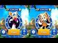 Sonic Dash ROUGE VS CREAM Android iPad iOS Gameplay HD