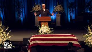Watch Joe Biden's full eulogy at John McCain's memorial service