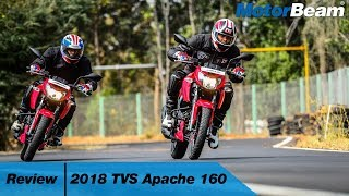 TVS Apache 160 Review - Most Powerful 160cc | MotorBeam