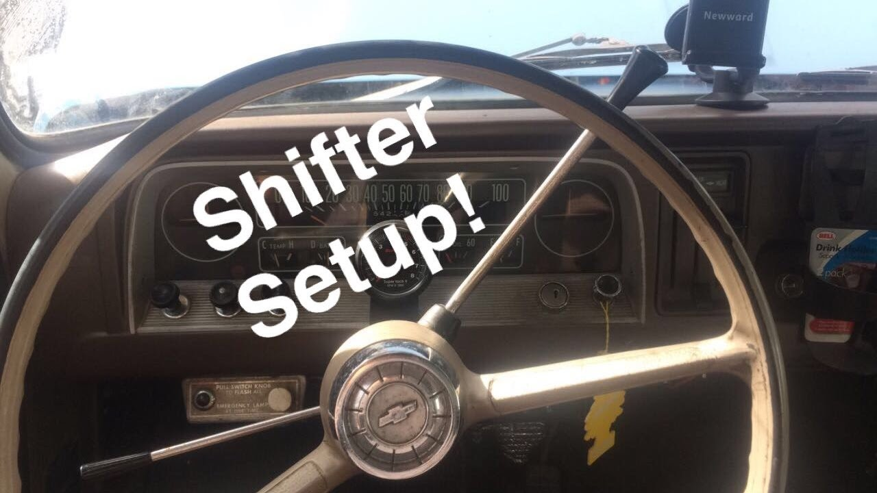 Manual to automatic column shifter mod
