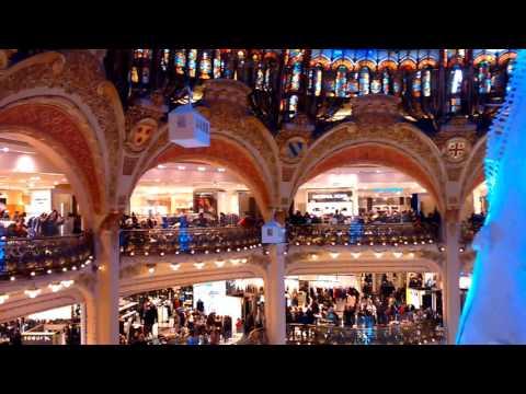 Paris Haussmann Galeries Lafayette