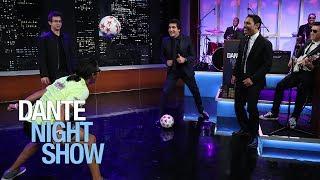 Increíble demostración del manejo del balón - Dante Night Show