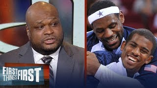 Antoine Walker on Harden's failure, LeBron joining Chris Paul in Houston | NBA | FIRST THINGS FIRST thumbnail