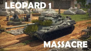 MASSACRE - Leopard 1 (War Thunder RB Replay)