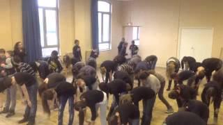 Flash mob : les élèves du collège Saint-Pierre de Lille s