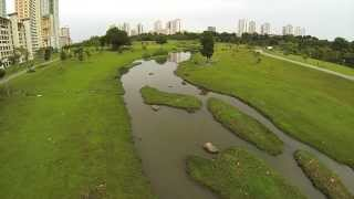 Phantom 2 First Flight in Bishan Park