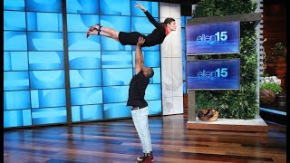 Ellen Challenges Celebrities to Beat Biel