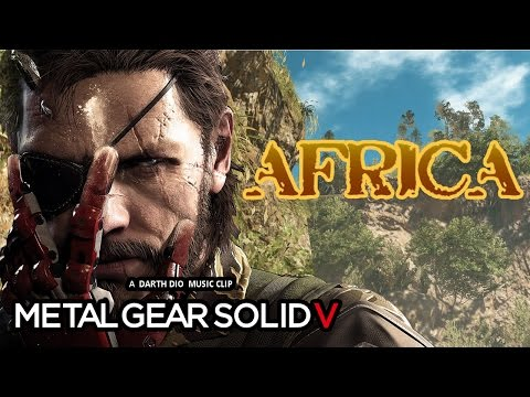 Metal Gear Solid V - 80's Style - Africa/Toto Video Music Clip -