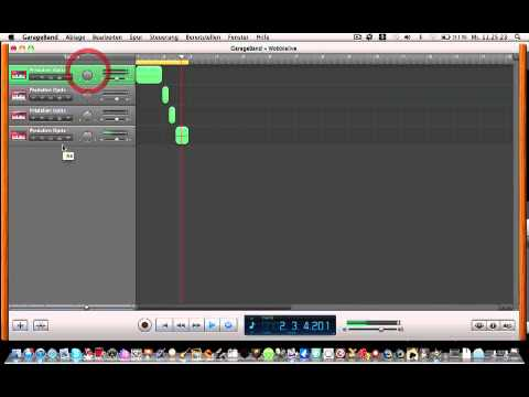 Wobble bass in garageband 7 loop downloads by me download link there youtube - How to download garage band ...