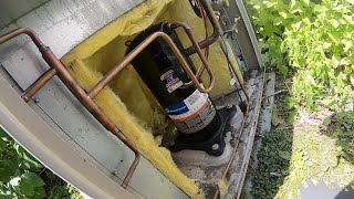 AC Compressor Open Windings Outdoor Unit Won't Start