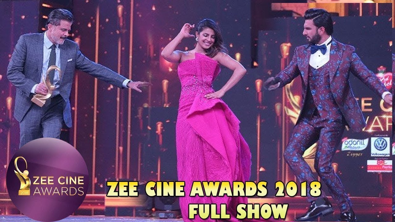Zee Cine Awards 2018 Full Event | Ranveer Singh, Shah Rukh Khan, Priyanka  Chopra And Others