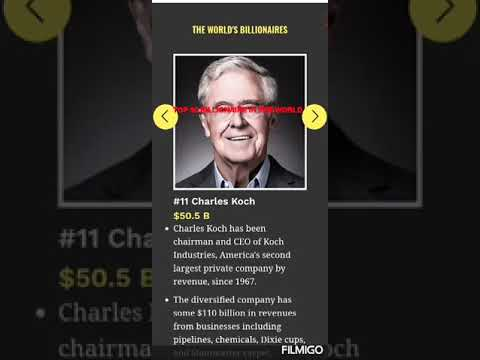 #BILLIONAIRE   TOP 20 RICHEST MAN IN THE WOLD 2019