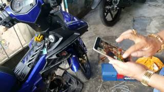 S-MOTO | Ex150 Demo chức năng chống trộm qua điện thoại