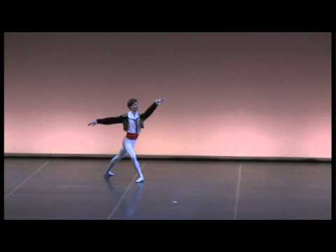 2012 Paquita - variation HELSINKI INTERNATIONAL BALLET COMPETITION