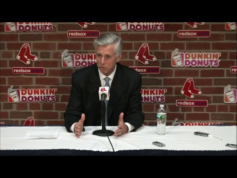 Dave Dombrowski Addresses John Farrell's Departure As Red Sox Manager