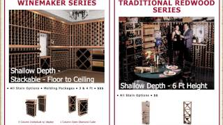Wine Cellar Innovations - Wine Racks Overview