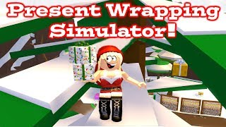 ROBLOX Present Wrapping Simulator Consigue tu regalo