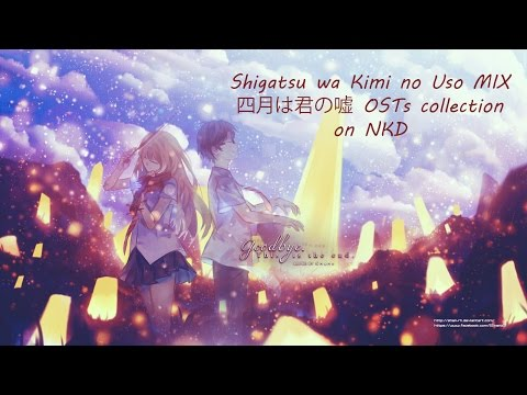 Shigatsu Wa Kimi No Uso MIX - 四月は君の嘘 OSTs collection on Synthesia {200 subs special} - NKD