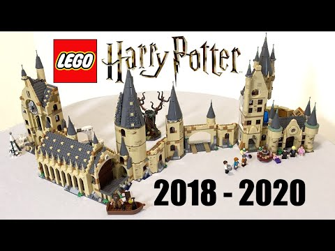 LEGO Hogwarts! 2018-2020 LEGO Harry Potter Minifigure-scale Setup!