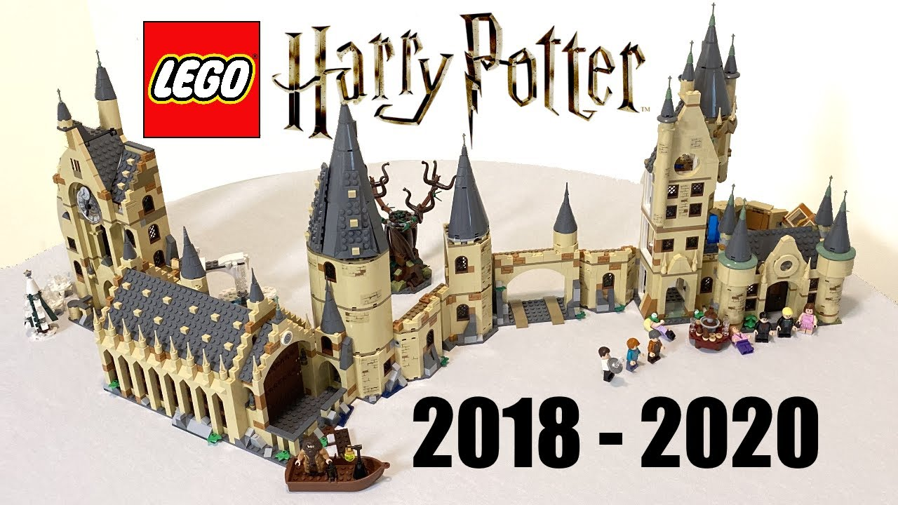 Lego Hogwarts 2018 2020 Lego Harry Potter Minifigure Scale Setup Youtube