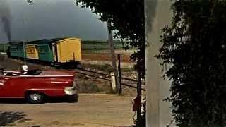 Málaga es de Cine: Tren Suburbano en el apeadero del Pinillo (Torremolinos) en 1957