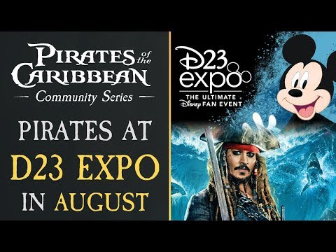 Repeat Pirates of the Caribbean 6 Announcement D23 2019! by Podcast