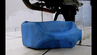 como fazer uma troca de oleo (moto) Fazer 150