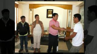 Turn Over of Farm Machineries (Brgy. San Jose Antipolo City) ika 11 ng Abril taong 2014