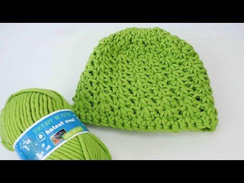 Wintermütze häkeln – mit Sternmuster – wie häkelt man eine Mütze für den Winter Anleitung