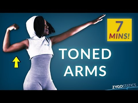 How To Tone Your Arms! | 7 Minute Home Workout For Arm Fat