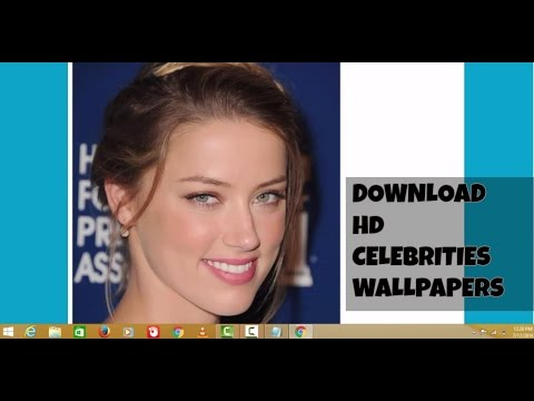 HOW TO DOWNLOAD HD CELEBRITY WALLPAPERS EASILY   LATEST 2016   HD