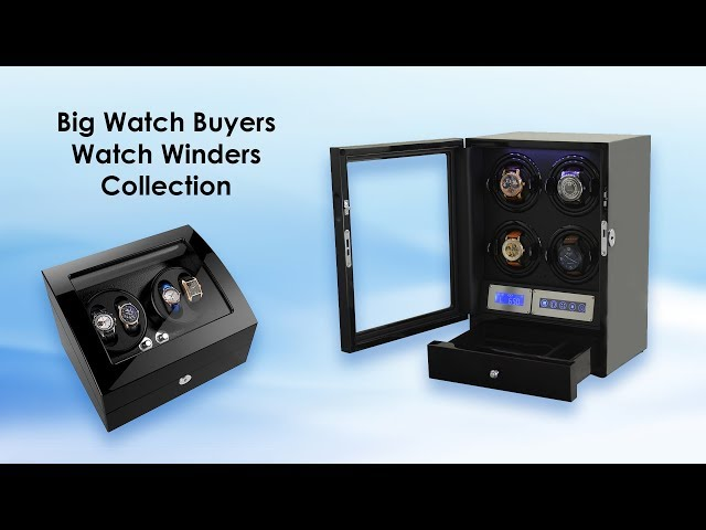 Big Watch Buyers Watch Winders Collection IN STOCK!