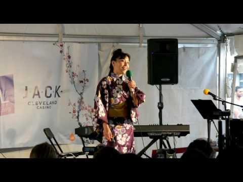 Miki Saito Performing Kokiriko Bushi (こきりこ節) At Cleveland Asian Festival