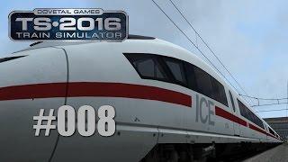 Train Simulator 2016 - Mit dem ICE 3 von Düsseldorf nach Köln #008 - Sänk ju for trawelling ...