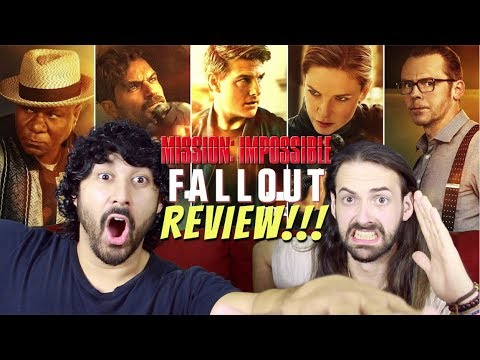 MISSION: IMPOSSIBLE - FALLOUT - MOVIE REVIEW!!! thumbnail