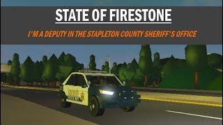 ROBLOX | Firestone SCSO Patrol #1 | I'M A DEPUTY IN SCSO!