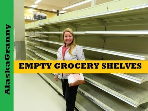 Prepping for Empty Grocery Store Shelves
