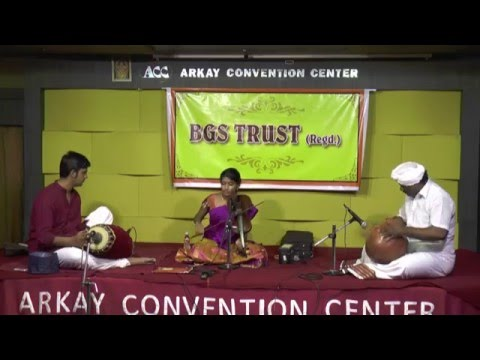 BGS Trust-Harini Rajashekar Violin Solo