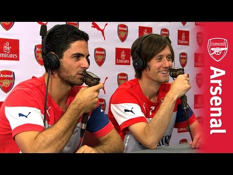 Mikel Arteta & Tomas Rosicky: UnClassic Commentary