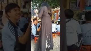 Sa mưa giông. Ca sĩ HẠ CHÂU. Trường THPT An Ninh