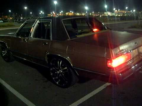 1991 Mercury Grand Marquis  YouTube