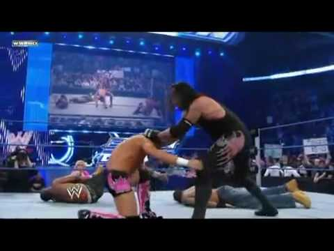 Undertaker Clears The Ring