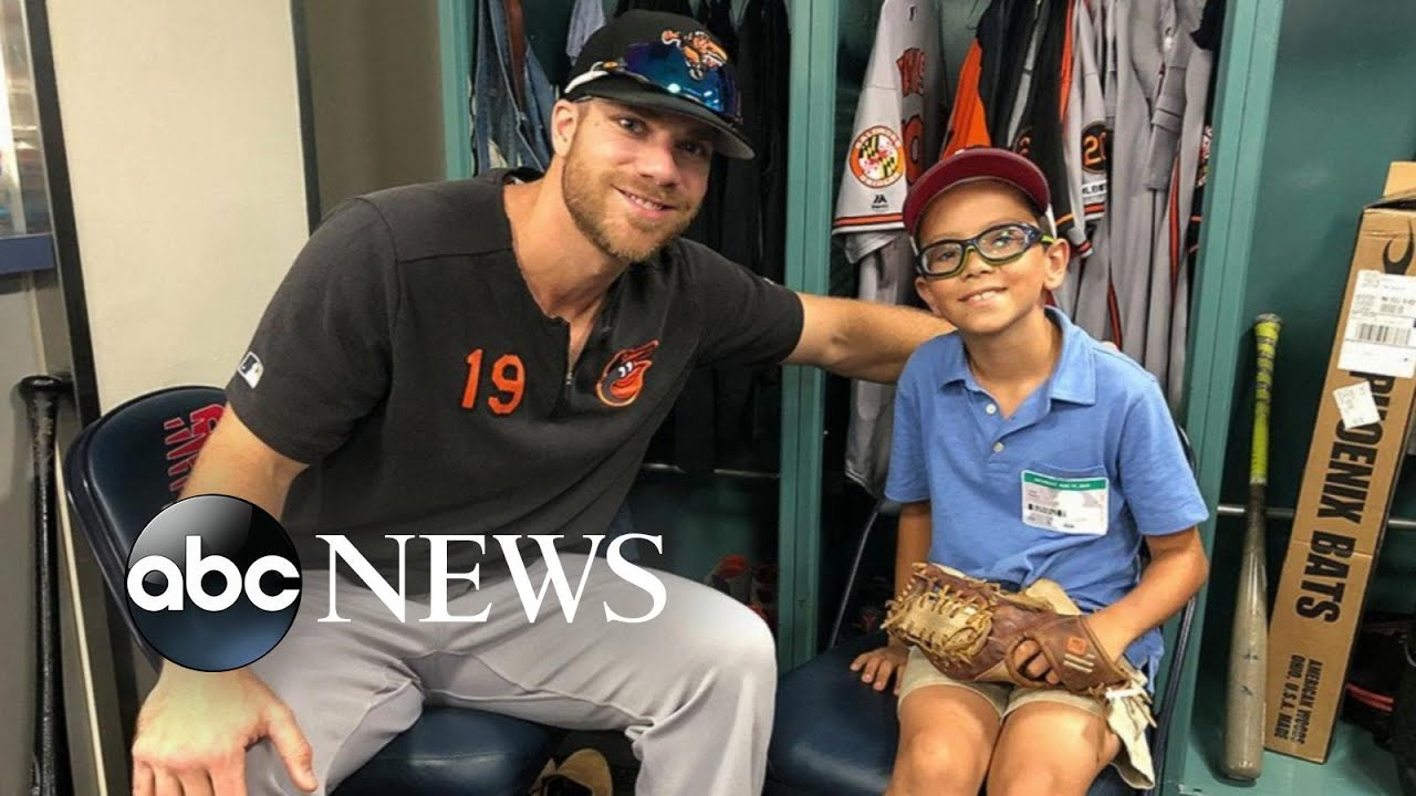 ABC News:9-year-old sends encouraging letter to MLB player