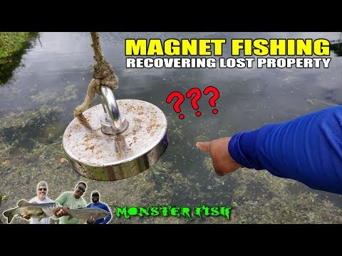 MAGNET FISHING - Recovering Lost Property | Monster Mike Fishing
