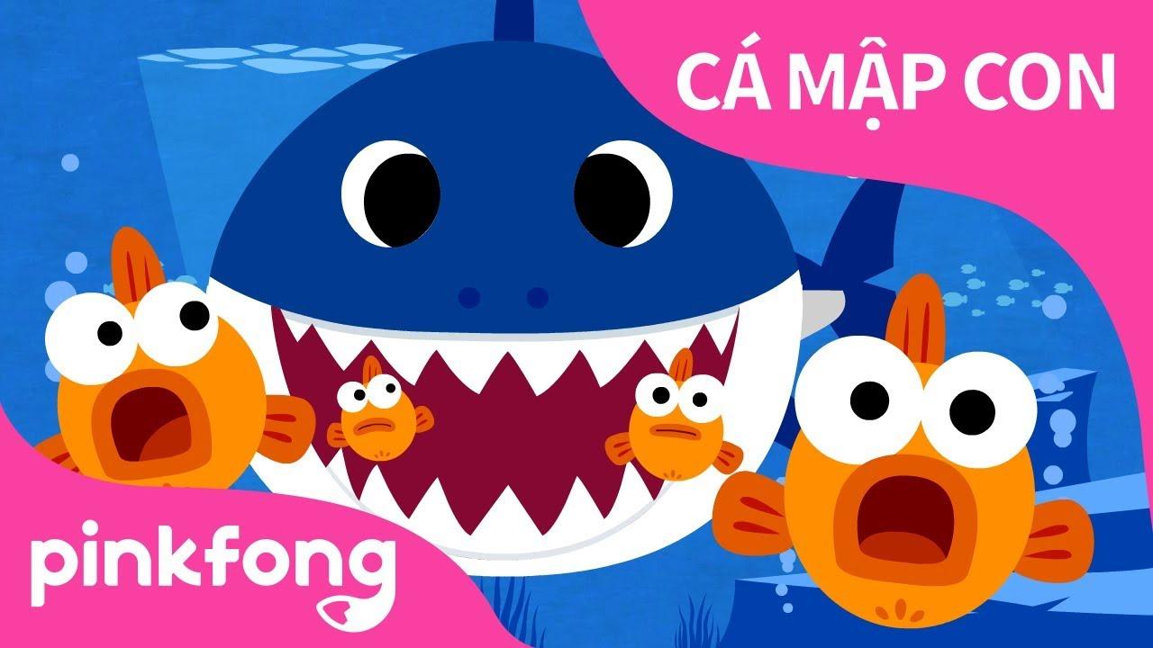 Cá Mập Con | Baby Shark Vietnamese | Bài hát về Động Vật | @Pinkfong! Những bài hát cho trẻ em!