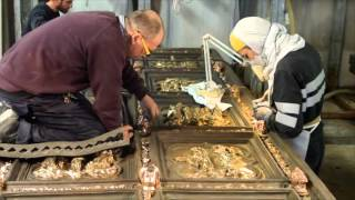 The North Door is back - Casting the replica for the Florence Baptistery   9min