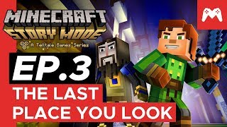 Minecraft: Story Mode - Episode 3: The Last Place You Look | Nintendo Switch Gameplay