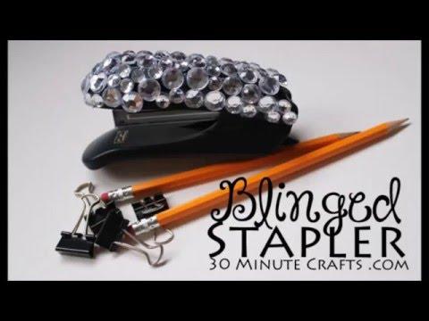 How to Bling a Stapler